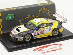 Porsche 911 GT3 R #98 3 ° FIA GT World Cup Macau 2019 Earl Bamber 1:43 Spark