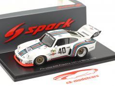 Porsche 935 #40 Entraine toi 24h LeMans 1976 Stommelen, Schurti 1:43 Spark