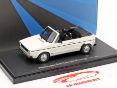 Volkswagen VW Golf 1 Cabriolet protótipo 1976 Branco 1:43 AutoCult