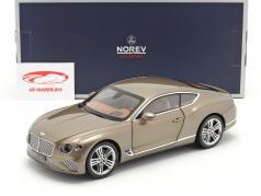 Bentley Continental GT Ano de construção 2018 Sombrio caxemira metálico 1:18 Norev