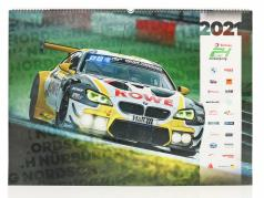 24h Nürburgring calendário 2021  67 x 42 cm / grupo C Automobilismo editora