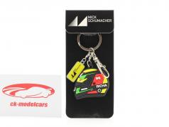 Mick Schumacher Key chain helmet formula 2 2019