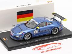 K. Estre Porsche 911 (991) GT3 Cup #1 Champion Tyskland PCC 2013 1:43 Spark