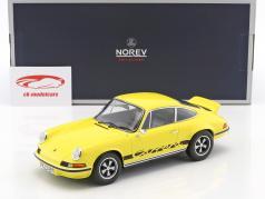 Porsche 911 RS Touring 建造年份 1973 黄 / 黑 1:18 Norev