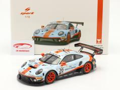 Porsche 911 GT3 R #20 优胜者 24h Spa 2019 Dirty Race Version 1:18 Spark