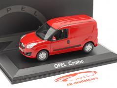 Opel Combo D furgão Baujahr 2012 vermelho 1:43 Norev