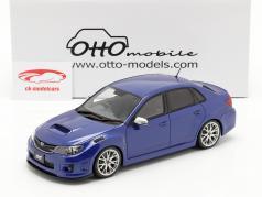 Subaru Impreza WRX STI Bouwjaar 2011 mica- blauw 1:18 OttOmobile