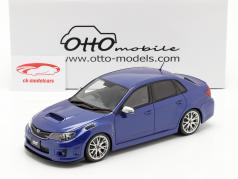 Subaru Impreza WRX STI Byggeår 2011 glimmer blå 1:18 OttOmobile