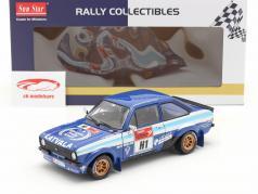 Ford Escort RS 1800 #1 vinder Rallye Estonia Historic 2012 1:18 SunStar