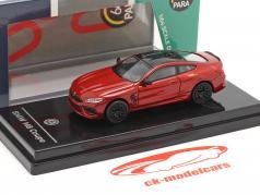 BMW M8 Coupe Bouwjaar 2018 motegi rood 1:64 Paragon Models