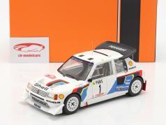 Peugeot 205 T16 E2 #1 2e Rallye Monte Carlo 1986 Salonen, Harjanne 1:18 Ixo