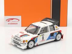 Peugeot 205 T16 E2 #8 6e Rallye Monte Carlo 1986 Saby, Fauchille 1:18 Ixo