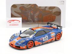 McLaren F1 GTR #33 9ème 24h LeMans 1996 Gulf Racing 1:18 Solido