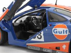 McLaren F1 GTR #33 9 ° 24h LeMans 1996 Gulf Racing 1:18 Solido