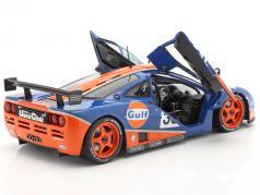 McLaren F1 GTR #33 第九名 24h LeMans 1996 Gulf Racing 1:18 Solido