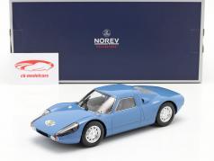 Porsche 904 GTS 建设年份 1964 蓝色 1:18 Norev