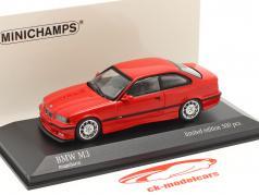 BMW M3 (E36) 建設年 1992 mugello 赤 1:43 Minichamps