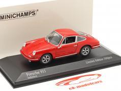 Porsche 911 建設年 1964 警備員 赤 1:43 Minichamps