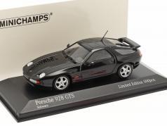 Porsche 928 GTS 建設年 1991 黒 1:43 Minichamps