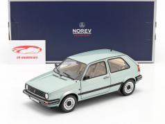 Volkswagen VW Golf II CL Anno di costruzione 1987 luce verde metallico 1:18 Norev