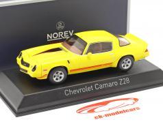 Chevrolet Camaro Z28 Année de construction 1980 Jaune 1:43 Norev