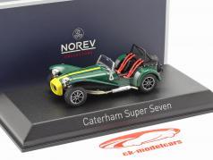 Caterham Super Seven Construction year 1979 green / yellow 1:43 Norev