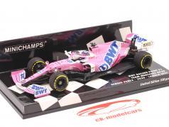 Sergio Perez Racing Point RP20 #11 Launch Spec Formel 1 2020 1:43 Minichamps