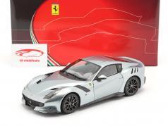 Ferrari F12 TDF Bouwjaar 2015 titanium Grijs 1:18 BBR