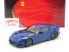 Ferrari F12 TDF Bouwjaar 2015 azzurro dino blauw 1:18 BBR