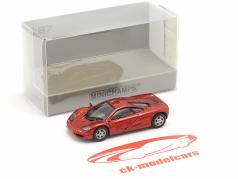 McLaren F1 Roadcar 1994 red metallic 1:87 Minichamps