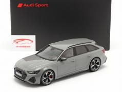 Audi RS 6 Avant (C8) Baujahr 2020 nardograu 1:18 Minichamps