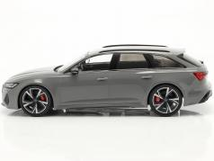 Audi RS 6 Avant (C8) year 2020 nardo gray 1:18 Minichamps