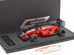Michaele Alboreto Ferrari F1-87/88C #27 2e Monza formule 1 1988 1:43 GP Replicas