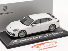 Porsche Panamera Turbo S e-hybrid Baujahr 2016 weiß 1:43 Minichamps