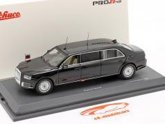 Aurus Senat Statlig limousine Rusland Vladimir Putin 2018 sort 1:43 Schuco