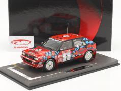 Lancia Delta HF Integrale #1 ganador Rallye SanRemo 1989 Biasion, Siviero 1:18 BBR