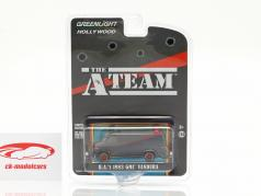 B.A.'s GMC Vandura Dirty Version 1983 TV serier The A-Team (1983-87) 1:64 Greenlight