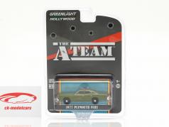 Plymouth Fury 1977 serie TV The A-Team (1983-87) esercito verde 1:64 Greenlight