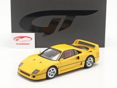 Ferrari F40 Année de construction 1987 modena Jaune 1:18 GT-Spirit