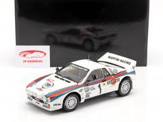 Lancia 037 Rally #1 ganador Rallye Monte Carlo 1983 Röhrl, Geistdörfer 1:18 Kyosho