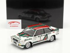 Fiat 131 Abarth #1 Rallye le Portugal 1978 Munari, Sodano 1:18 Kyosho