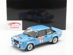 Fiat 131 Abarth #11 Шестой Rallye SanRemo 1980 Bettega, Bernacchini 1:18 Kyosho