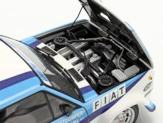 Fiat 131 Abarth #5 勝者 Rallye ポルトガル 1980 Röhrl, Geistdörfer 1:18 Kyosho