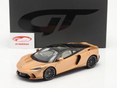 McLaren GT Année de construction 2019 cuivre métallique 1:18 GT-Spirit