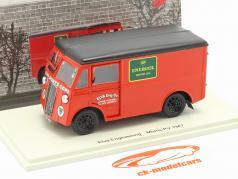 Morris PV Ondersteuning Vrachtwagen Elva Engineering Bouwjaar 1947 rood 1:43 Spark