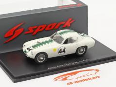 Lotus Elite #44 gagnant GT1.3 24h LeMans 1962 Hobbs, Gardner 1:43 Spark