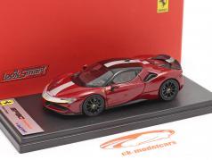 Ferrari SF90 Stradale Baujahr 2019 fiorano rot / schwarz 1:43 LookSmart