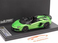 Lamborghini Aventador SVJ Roadster Byggeår 2019 alcheo grøn 1:43 LookSmart
