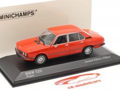 BMW 520 Année de construction 1974 phoenix rouge 1:43 Minichamps
