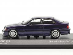 BMW M3 (E36) 建设年份 1992 技术 紫色 1:43 Minichamps